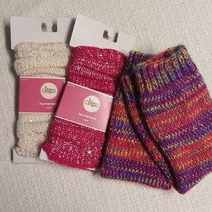 🌹3/$20🌹Circo leg warmers set of 3 youth